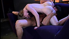 Seductive young blonde with a superb body Sunny Lane is horny as hell