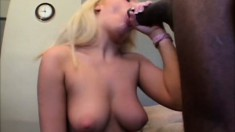 Holly Wellin gets into a fuck fest with a black man's huge manhood