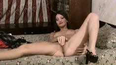 Lustful Hermione plays with herself and then enjoys Trofim's hard dick
