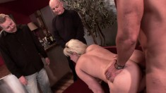 Ravishing Blonde Housewife Heidi Gives Anal Sex A Try With A Stranger