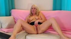 Hot Busty Mature Blonde Kandi Koxx Solo