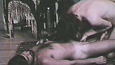 Six horny toned stallions exploit each other's cocks and asses in an orgy