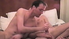 Cute gay first timer gets filmed while banging his geeky buddy