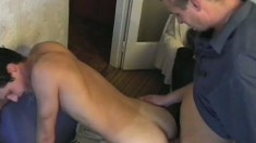 Sexy gay roommates allow desire to take control of their actions