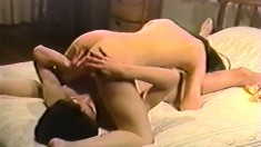 Petite Asian Schoolgirl Gets Nailed By Her Boyfriend All Over The Bed