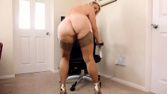 Cameron Canada Ass Blonde Masturbation
