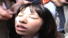 Japanese Porn Huge Facial Bukkake