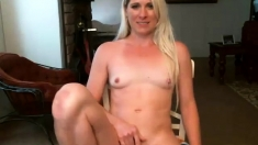 Amateur blonde Masturbation no sound