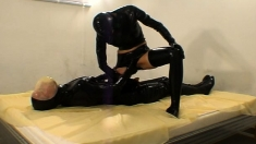 Latex And Ultra Fetish Bdsm Banging