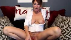 Big boobs redhead milf
