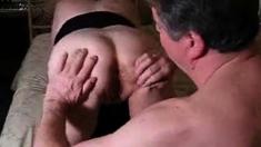 Hubby Licks My Spunk From Hius Slut Girls Cunt